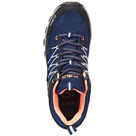 CMP Campagnolo Rigel Low WP Trekking Shoes Women black blue-giada-peach